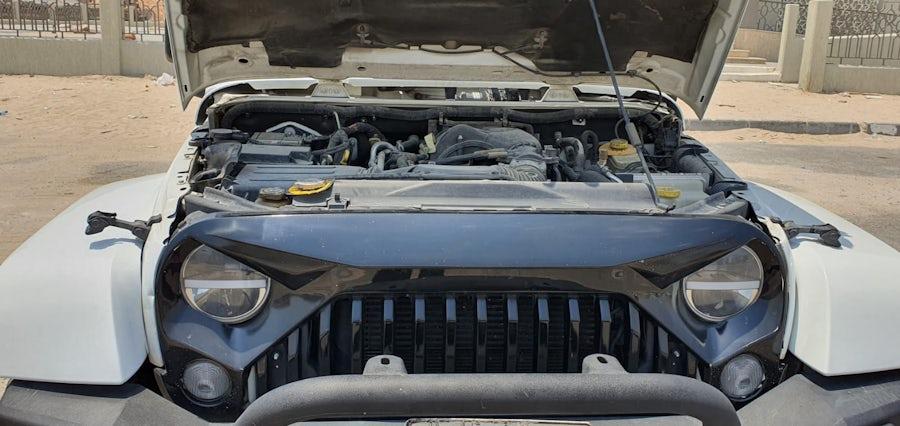 Jeep Wrangler Sahara Unlimited 2017