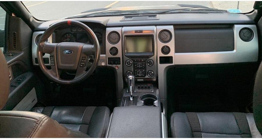 Ford Raptor SVT 2015