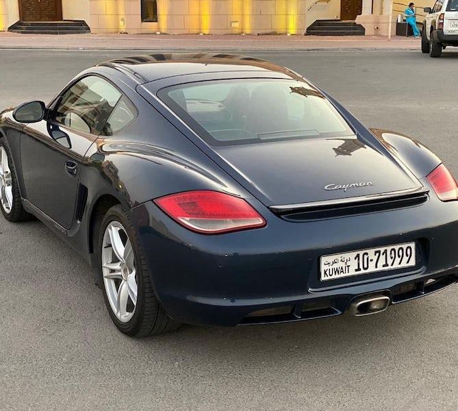 Porsche Cayman 2011