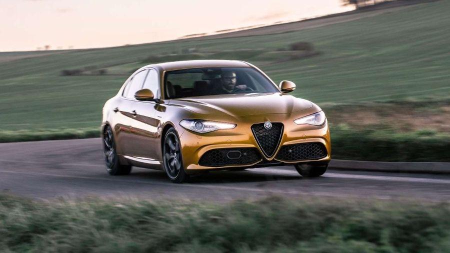 Alfa Romeo Giulia Veloce 2020